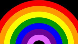 #ProjectThankYou Rainbow Window Projection Animation Video